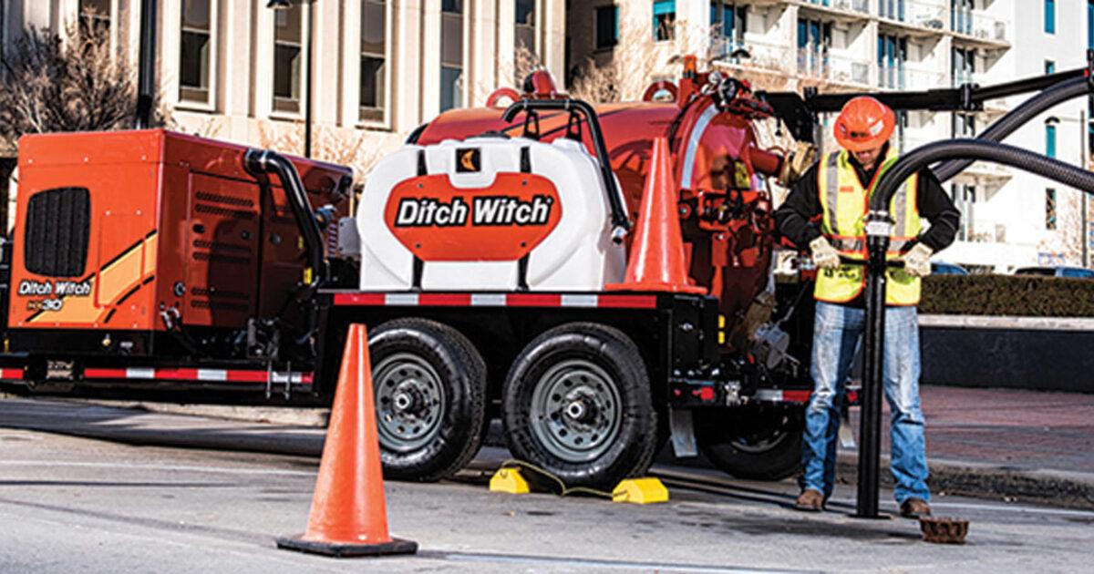 Hydroexcavation Equipment Ditch Witch Hx30 Pumper