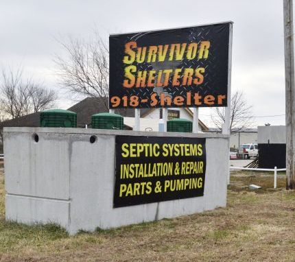 Jason Birdsong also offers storm shelter installations through his Survivor Shelters superstore.